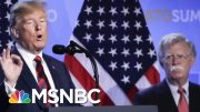 Politico: John Bolton Unloads On Trump's Foreign Policy | Hardball | MSNBC 5