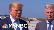 President Donald Trump Asked If He Would Attack Iran With Nuclear Weapons | The Last Word | MSNBC 4