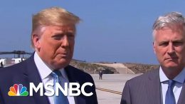President Donald Trump Asked If He Would Attack Iran With Nuclear Weapons | The Last Word | MSNBC 3