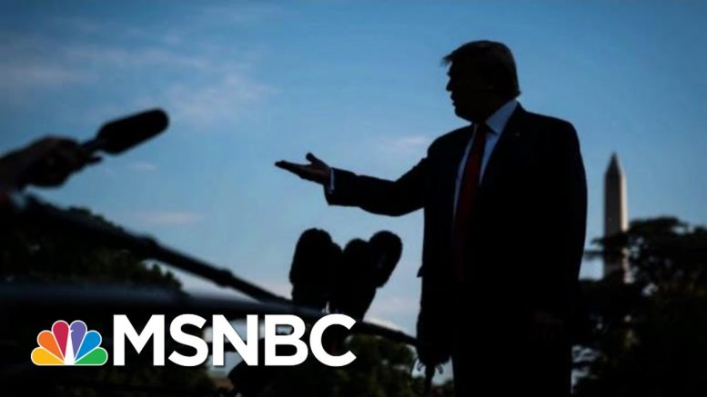 Govt. Whistleblower Heard Trump Say Something Troubling To A Foreign Leader | The 11th Hour | MSNBC 1