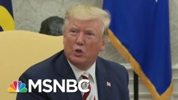 Trump's 'Promise' To Foreign Leader Sparked Whistleblower Complaint | Velshi & Ruhle | MSNBC 6