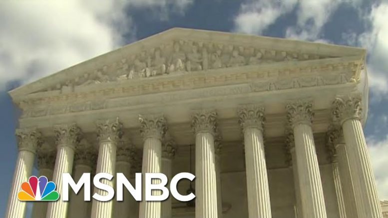 Trump Stocking Federal Courts At Historic Pace | Velshi & Ruhle | MSNBC 1