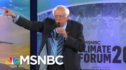 Bernie Sanders: I'd Look Into Criminal Charges Against Fossil Fuel Executives | MSNBC 8