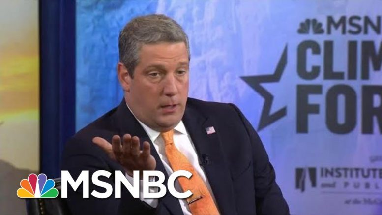 Rep. Tim Ryan: We Can't Fix Climate Change Without Working With China | MSNBC 1