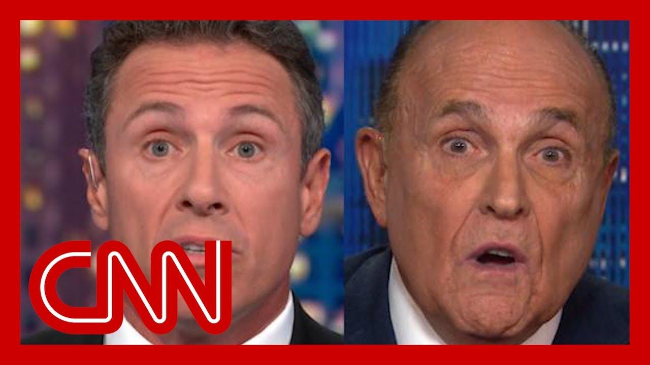 Chris Cuomo clashes with Rudy Giuliani over Ukraine 5
