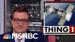 President Donald Trump Taunts Iran With Failed Rocket Launch Photo | All In | MSNBC 3