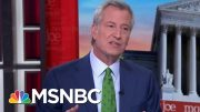 Bill De Blasio Announces An End To 2020 Campaign | Morning Joe | MSNBC 4