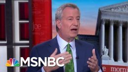 Bill De Blasio Leaves Race, Shares What He Learned On Trail | Morning Joe | MSNBC 3