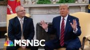 President Donald Trump Says Whistleblower Report Is 'Another Political Hack Job' | MSNBC 5
