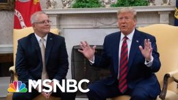 President Donald Trump Says Whistleblower Report Is 'Another Political Hack Job' | MSNBC 2