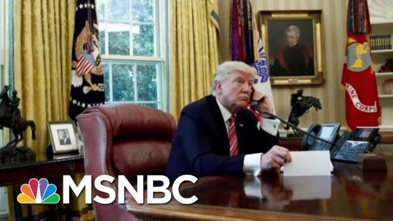 Wapo/NYT: Trump Whistleblower Complaint Centers On Ukraine | Velshi & Ruhle | MSNBC 1