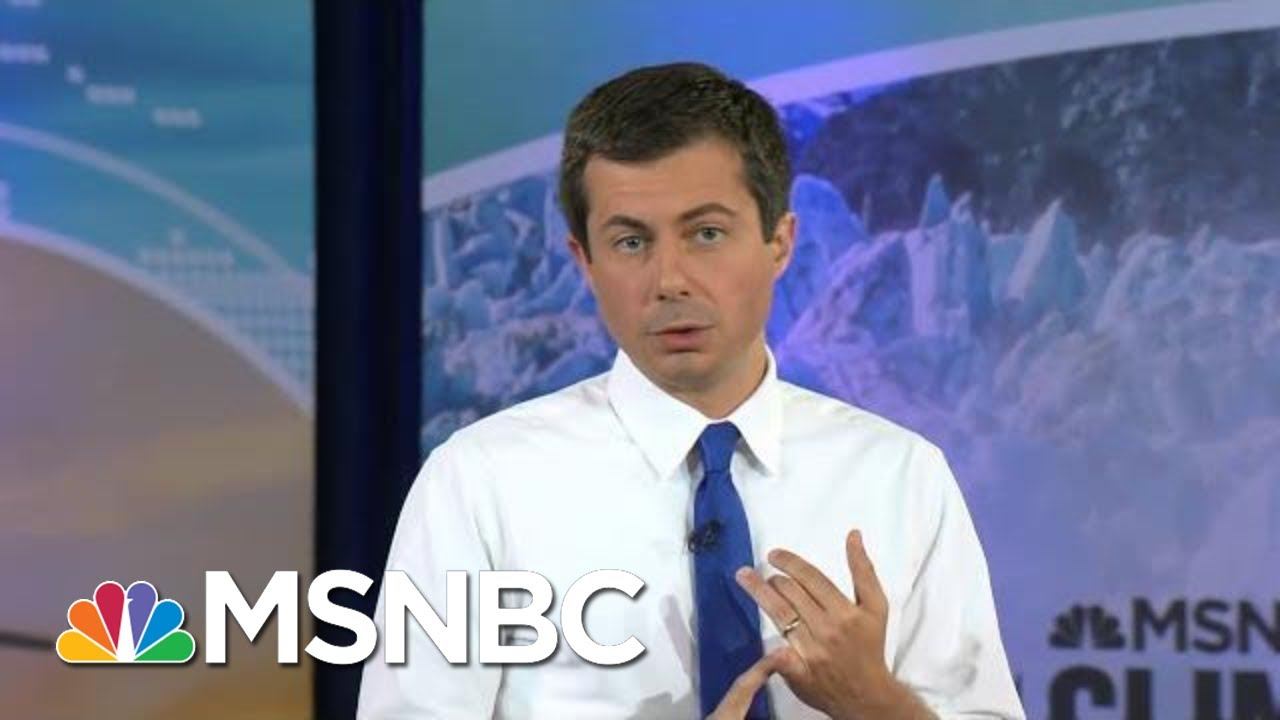 Pete Buttigieg: Fighting Climate Change Could Also Create Traditional, Union Jobs   MSNBC 1