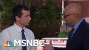 Mayor Pete Buttigieg On Climate Change, Iran, Trade, Healthcare | Velshi & Ruhle | MSNBC 5