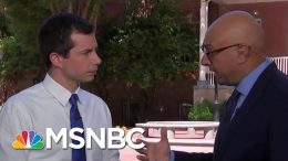 Mayor Pete Buttigieg On Climate Change, Iran, Trade, Healthcare | Velshi & Ruhle | MSNBC 5