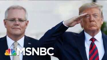 President Donald Trump Under Fire For 2020 Collusion | The Beat With Ari Melber | MSNBC 6