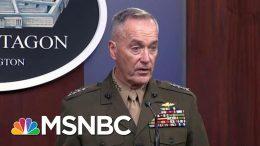 Trump Sending Troops To Saudi Arabia; Military Funds Sent To Wall | Rachel Maddow | MSNBC 2