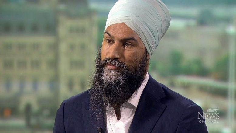 Singh hasn't ruled out working with Liberals in minority 1