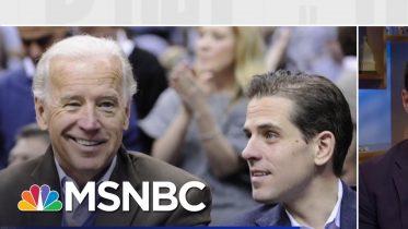 "Reporter: ""No Evidence"" Biden Used Power Of VP Office In Ukraine | MSNBC 6"