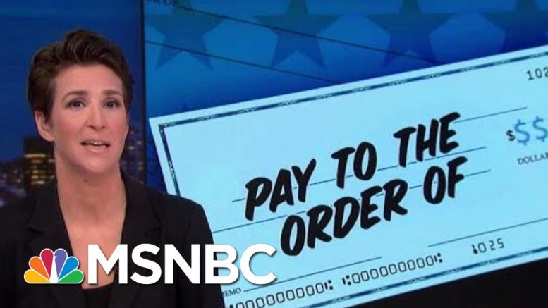 Congressional Hearing Will Take Another Look At 'Individual 1' | Rachel Maddow | MSNBC 1