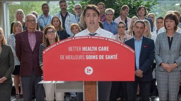 Trudeau brings up Ford cuts when campaigning on health care 6