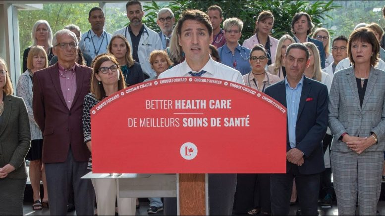 Trudeau brings up Ford cuts when campaigning on health care 1