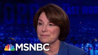 "Sen. Amy Klobuchar: ""It's Not American"" To Block Election Security Measures | The Last Word | MSNBC 10"
