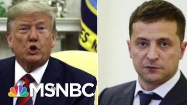 President Donald Trump Admits Discussing Joe Biden With Ukrainian Leader | Velshi & Ruhle | MSNBC 6