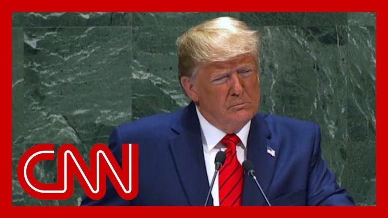 Hear Trump's full remarks on Iran from his UN address 1