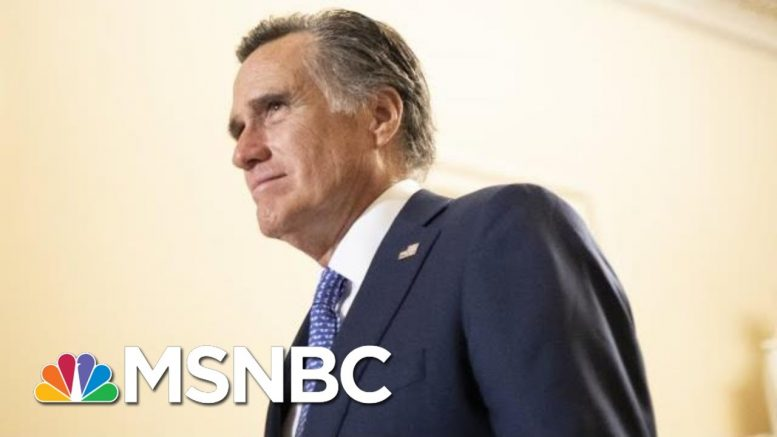 Mitt Romney: We Need To See The Trump Whistleblower Complaint | The 11th Hour | MSNBC 1