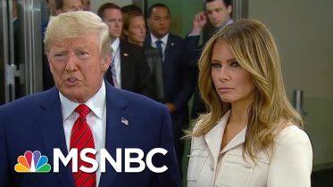 President Donald Trump Says He Put 'No Pressure' On Ukraine To Investigate Biden's Son | MSNBC 6
