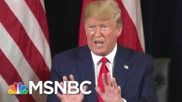 Trump Denies Asking Ukraine To Investigate Biden In Exchange For Aid | Morning Joe | MSNBC 4