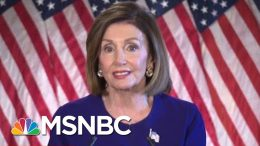 Trump Ukraine Solicitation Forces Nancy Pelosi's Hand On Impeachment | Rachel Maddow | MSNBC 1
