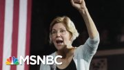 Senator Elizabeth Warren Leads 2020 Field In New Polling | Morning Joe | MSNBC 5