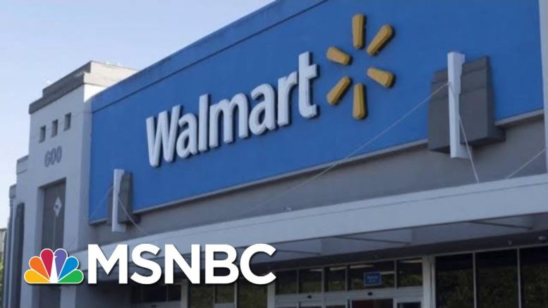 Walmart Urges Congress, Trump To 'Do Their Part' To Stop Gun Violence | Velshi & Ruhle | MSNBC 1