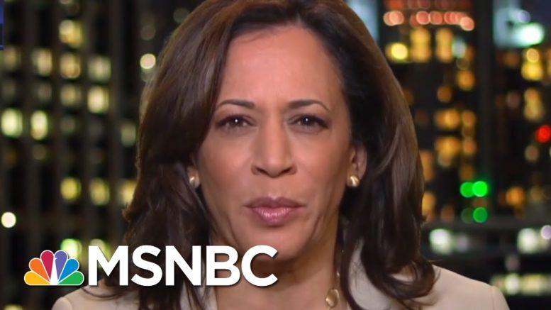 Kamala Harris On Impeachment: Trump Is Least Patriotic President In History   The Last Word   MSNBC 1