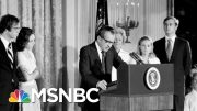 The Historical Context Of Impeachment | Velshi & Ruhle | MSNBC 4