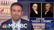 Why Trump's Ukraine Call Meets The Founders' Impeachment Standard | The Beat With Ari Melber | MSNBC 2