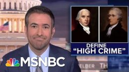 Why Trump's Ukraine Call Meets The Founders' Impeachment Standard | The Beat With Ari Melber | MSNBC 6