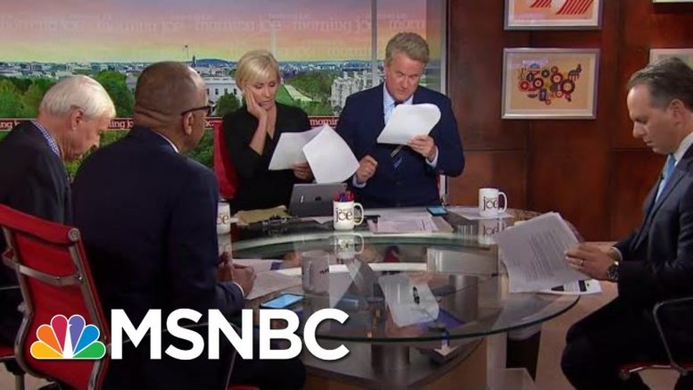 BREAKING: Full Whistleblower Complaint Released | Morning Joe | MSNBC 1