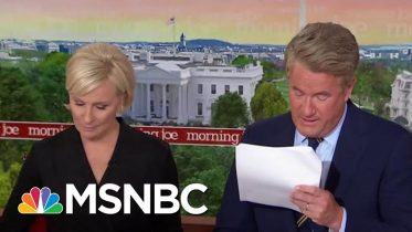 Whistleblower: White House Officials Intervened To 'Lock Down' Records Of Call | Morning Joe | MSNBC 6