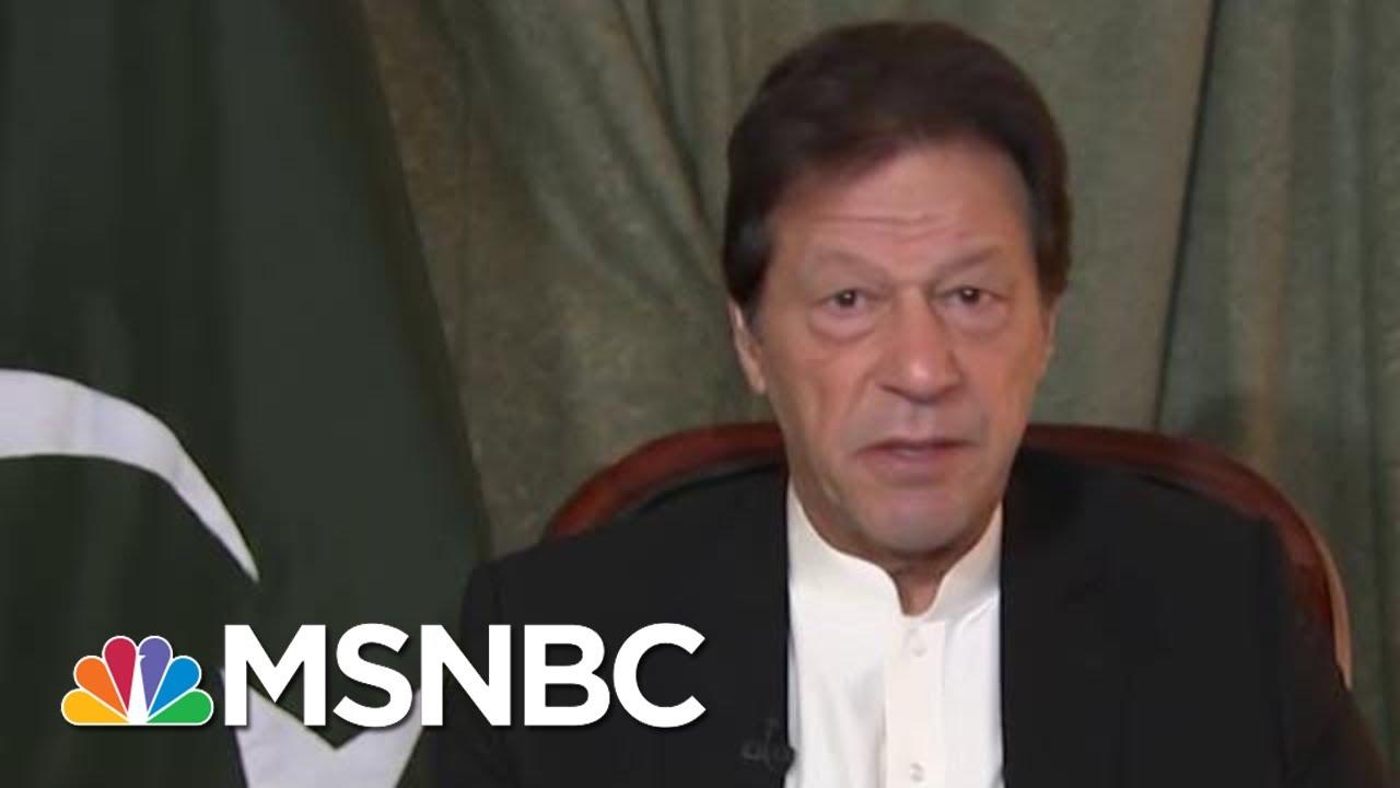 Pakistani PM Open To President Donald Trump's Help In Kashmir   Morning Joe   MSNBC 4