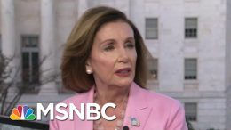 Pelosi: Trump Used Taxpayer Money To Shake Down Leader For His Own Gain | Morning Joe | MSNBC 7