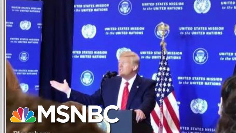 'The Room Was Mostly Silent': Reporter In Room For 'Spies' Remark | Morning Joe | MSNBC 1
