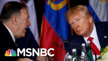 Mike Pompeo Subpoenaed For Ukraine Docks By 3 House Committees | Deadline | MSNBC 6