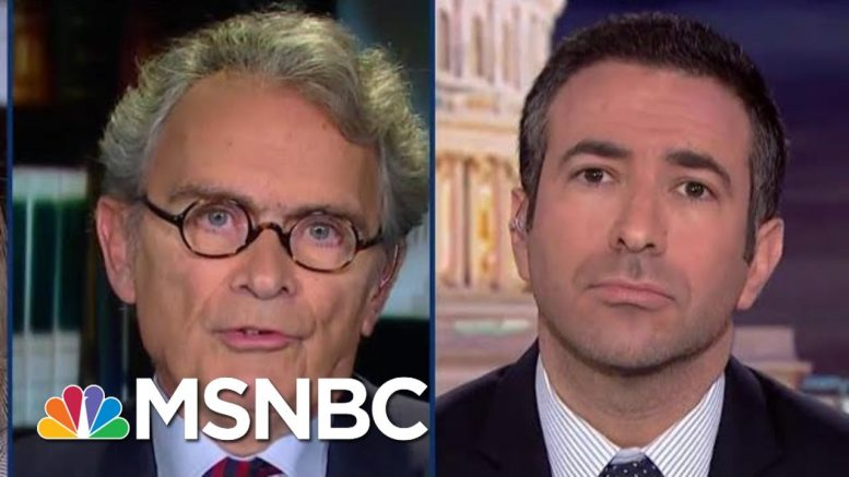 Fmr. Intel Official: Trump Aides Could Face Criminal Exposure | The Beat With Ari Melber | MSNBC 1