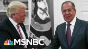 Frank Figliuzzi: Trump 'Actually Compromised Himself' With Russia | The 11th Hour | MSNBC 3