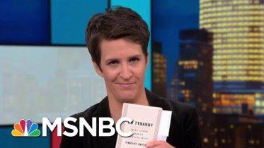 Trump Impeachment Probe Confronts 'Russian Way Of Doing Politics' | Rachel Maddow | MSNBC 9