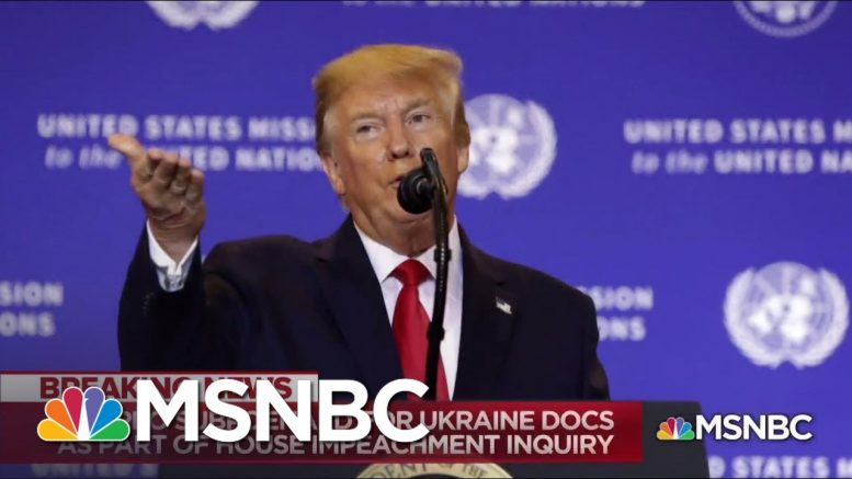 Where Does The Ukraine Investigation Go Next? - The Day That Was | MSNBC 1
