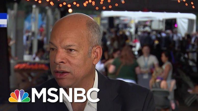 Jeh Johnson: Whistleblower Protection Is Fundamental | MSNBC 1