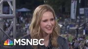 Rachel Brosnahan: Venezuelan Crisis Isn't About Politics, It's About Families | MSNBC 4